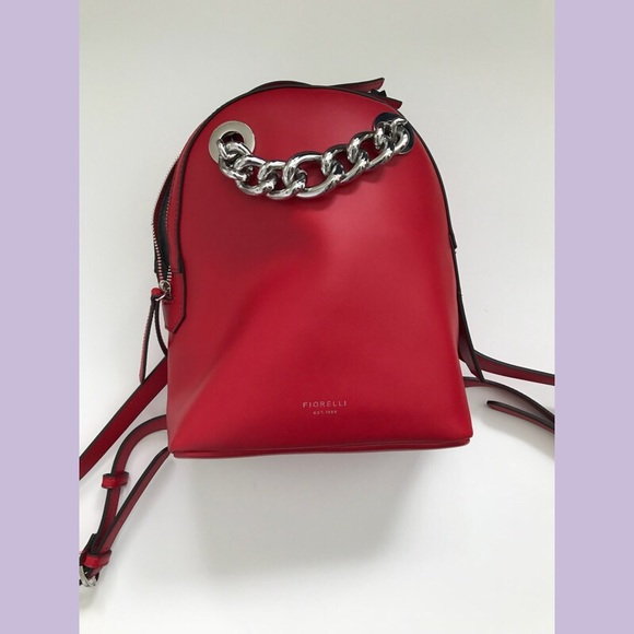 NEW Fiorelli Anouk backpack pillarbox red